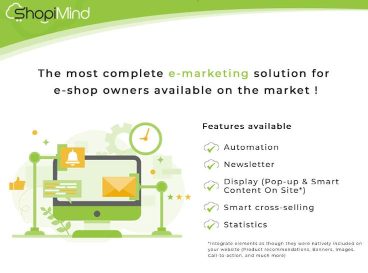 presta shop extension for e-commerce automation shopimind