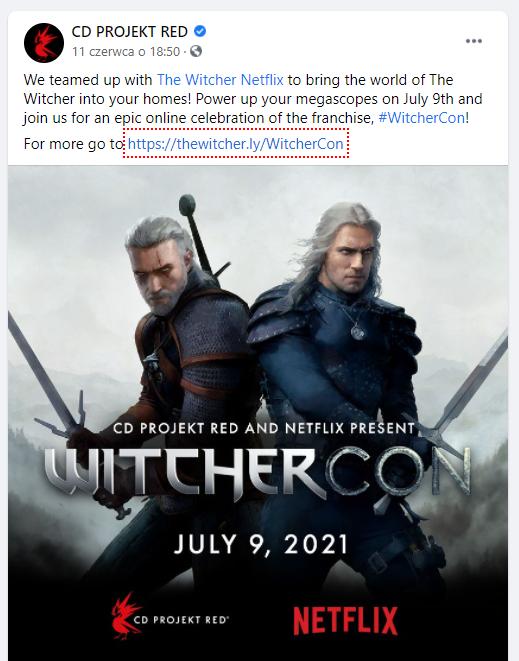 facebook company page example
