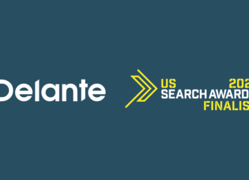 Delante Shortlisted for US Search Awards 2021