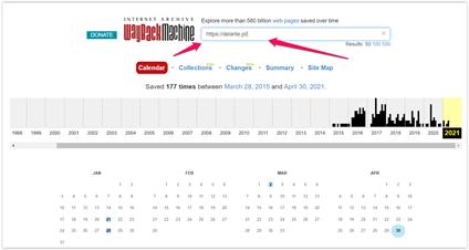checking domain history