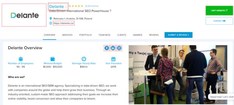 how to choose SEO agency online Designrush marketplace