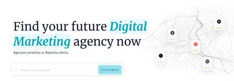 finding seo agency online sortlist marketplace